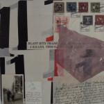 Blast 40cm x40cm mixed media on canvas