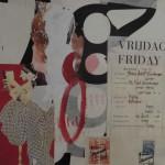 Freitag 40cm x 40cm mixed media on canvas