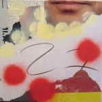 27 40cm x 40 cm mixed media on canvas