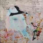 Best Benet 40cm x 40cm mixed media on canvas