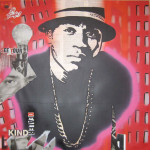 LL Cool J 100cm x 100cm mixed media