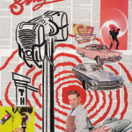 simplex 45cm x70cm HIV law progectmixed media on canvas